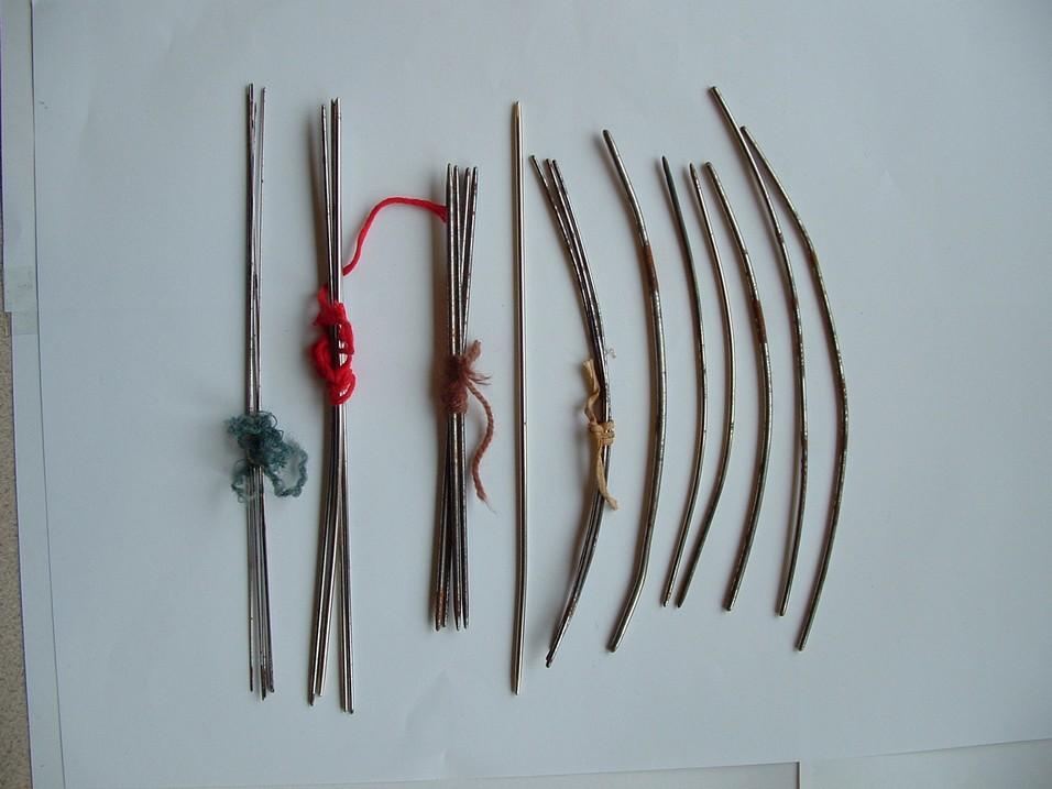 Antique Dutch Silver Knitting Needle Sheath